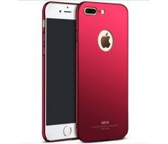 MSVII SLIM HARD TPU pre APPLE IPHONE 7 PLUS/8 PLUS - červené